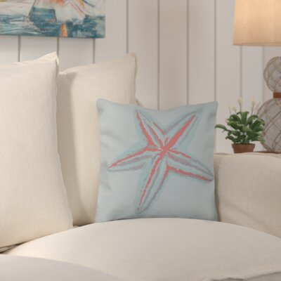 Suffolk Outdoor Throw Pillow Color: Blue