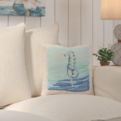 Suffolk Outdoor Throw Pillow Color: Gray