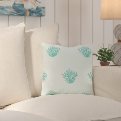Cypress Lake Coastal Outdoor Throw Pillow Color: Green