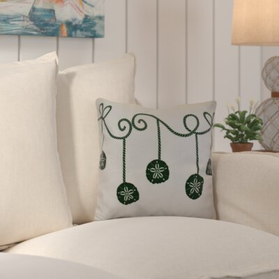 Highland Park Decorative Holiday Geometric Print Throw Pillow Size: 20 H x 20 W, Color: Green