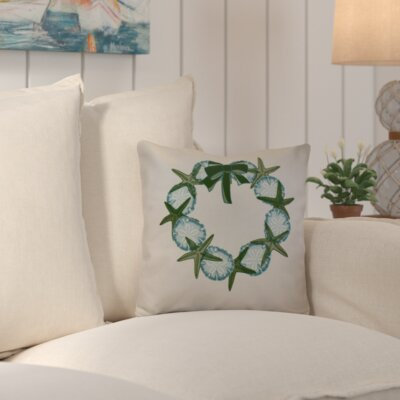 Decorative Holiday Geometric Print Throw Pillow Size: 16 H x 16 W, Color: Green