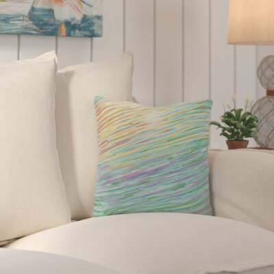 Suffolk Outdoor Throw Pillow Color: Yellow
