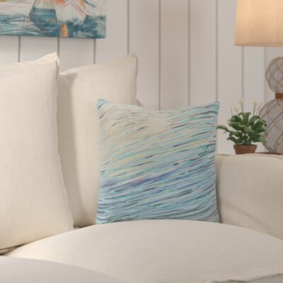 Suffolk Outdoor Throw Pillow Color: Taupe