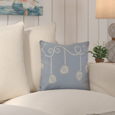 Highland Park Decorative Holiday Geometric Print Throw Pillow Size: 16 H x 16 W, Color: Blue