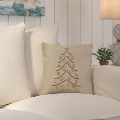 Decorative Holiday Geometric Print Throw Pillow Size: 26 H x 26 W, Color: Beige