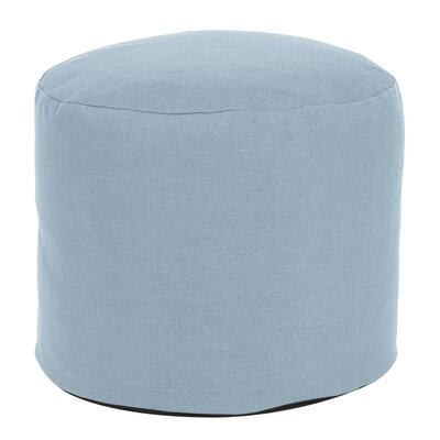 Vinita Tall Pouf Sterling Ottoman Color: Breeze