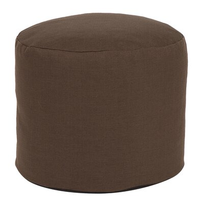 Vinita Tall Pouf Sterling Ottoman Color: Chocolate
