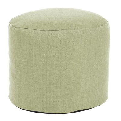 Delshire Tall Pouf Sterling Ottoman Color: Willow