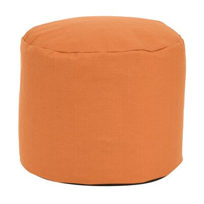 Delshire Tall Pouf Sterling Ottoman Color: Canyon
