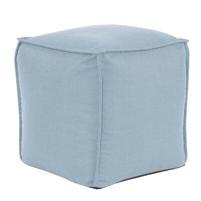 Glendale Square Pouf Sterling Ottoman Color: Breeze