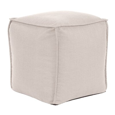Vena Pouf Color: Sand