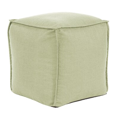 Glendale Square Pouf Sterling Ottoman Color: Willow