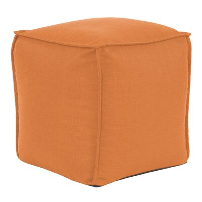 Vena Square Pouf Sterling Ottoman Color: Canyon