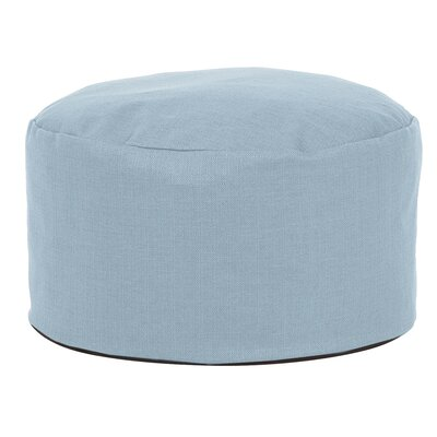 Cedar Foot Pouf Color: Breeze