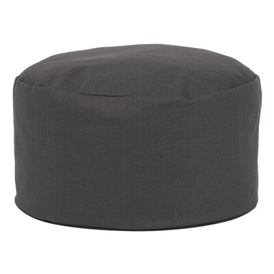 Cedar Foot Pouf Color: Charcoal