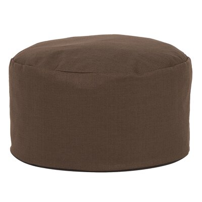 Cedar Foot Pouf Color: Chocolate