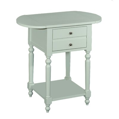 Tolland End Table Color: Aqua