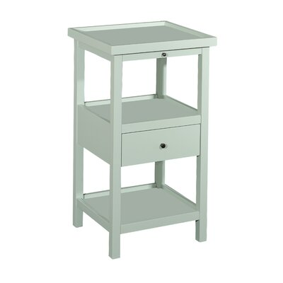 Merrimac End Table Color: Aqua