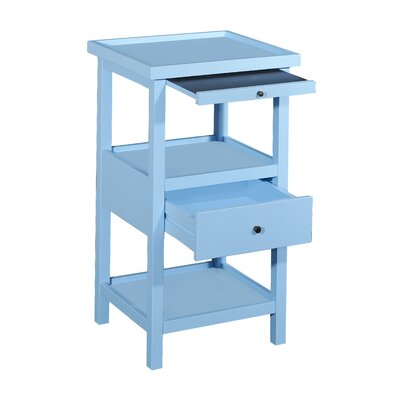 Merrimac End Table Finish: Ocean Blue