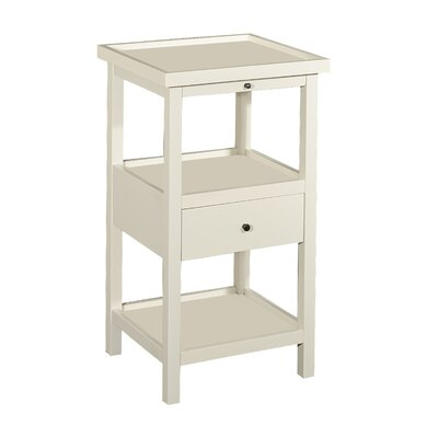 Merrimac End Table Color: White