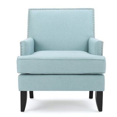 Chilton Armchair Upholstery: Light Blue