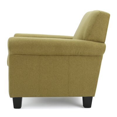 Sharon Armchair Upholstery: Light Green