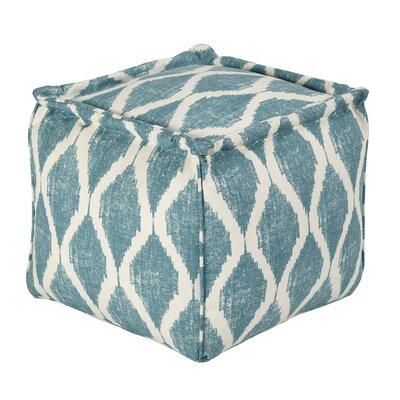 Blythe Pouf Upholstery: Teal