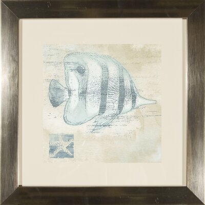 'Fish' 2 Piece Framed Graphic Art Set