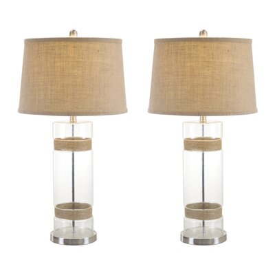 Greenfield Glass 31 Table Lamp Set