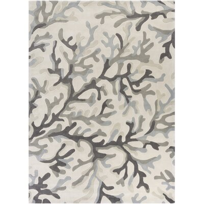 Cherrywood Light Gray/Magenta Area Rug Rug Size: Rectangle 8 x 11