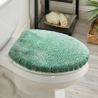 Ashmoore Spa Toilet Lid Cover Color: Spruce, Size: 17.4 W x 21.25  L