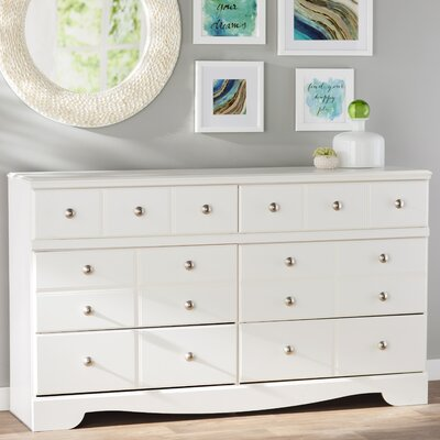 Carrabassett 6 Drawer Double Dresser