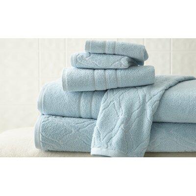6 Piece Towel Set Color: Lt. Blue
