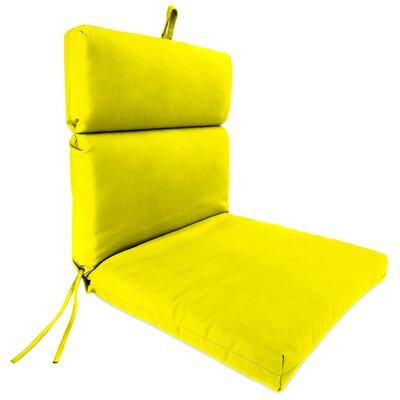Outdoor Adirondack Chair Cushion Fabric: Fresco Yellow