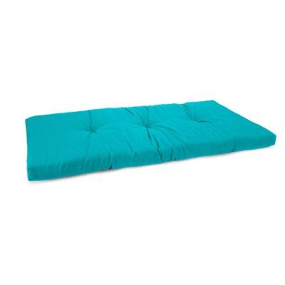 3 Sewn Outdoor Bench Cushion Fabric: Fresco Atlantis