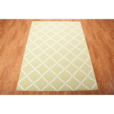 Creedmoor Light Green Indoor/Outdoor Area Rug Rug Size: 43 x 63