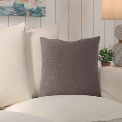 Milbridge Throw Pillow Color: Chocolate