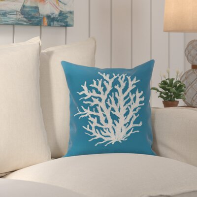 Fairhill Outdoor Pillow Color: Paisley, Size: 16 H x 16 W x 1 D