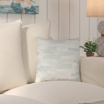 Chavers Indoor/Outdoor Throw Pillow Size: 16 H x 16 W x 4 D, Color: Green