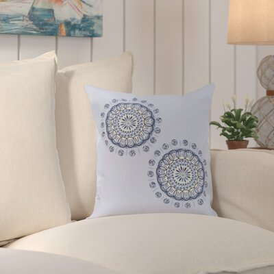 Lindamere Geometric Print Outdoor Pillow Color: Faded Glory, Size: 16 H x 16 W x 1 D