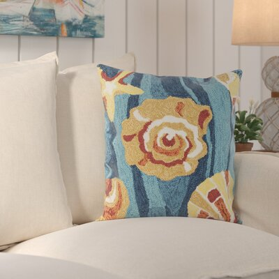 Tulare Beyond The Sea Decorative Indoor/Outdoor Throw Pillow Color: Tropical Blue