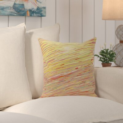 Jonelle Coastal Decorative Outdoor Pillow Color: Warm, Size: 18 H x 18 W x 1 D