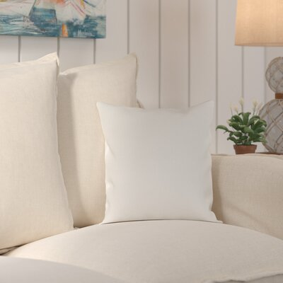 Murrayville Outdoor Throw Pillow Size: 20 H x 20 W x 0.25 D, Color: Light Gray