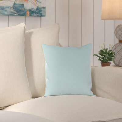 Murrayville Outdoor Throw Pillow Size: 16 H x 16 W x 4 D, Color: Light Blue