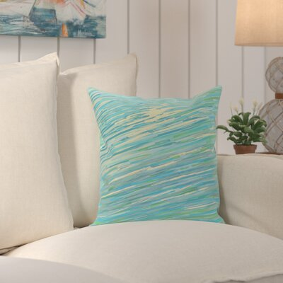 Jonelle Coastal Decorative Outdoor Pillow Color: Cool, Size: 18 H x 18 W x 1 D