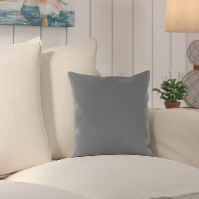 Murrayville Outdoor Throw Pillow Size: 16 H x 16 W x 4 D, Color: Charcoal