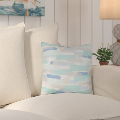 Randolph Indoor/Outdoor Throw Pillow Color: Blue, Size: 18 H x 18 W x 4 D