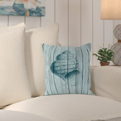Haddam Wood Shell 3 Outdoor Throw Pillow Size: 18 H x 18 W x 2 D