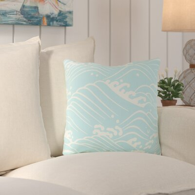 Charter Oak Ikat Throw Pillow Size: 18 H x 18 W x 4 D, Color: GreenNeutral