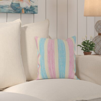 Monahan Cotton Candy Handcrafted Throw Pillow
